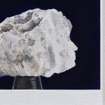 Untitled (Uranium Portrait / Lauper), 2014. Oil on linen on board. 25 x 30cm. Photo by Fiona Susanto.